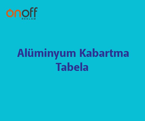 alüminyum kabartma